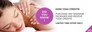 yoga credits massage hot yoga markham