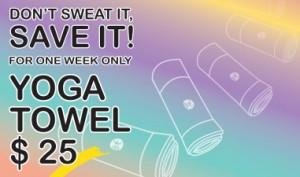 hot yoga towel sale
