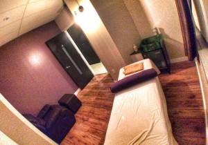 hot yoga markham wellness massage room