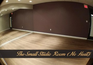 the small studio room hot yoga markham
