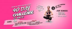 40 day yoga challenge hot yoga markham