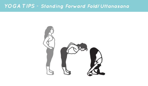 yoga tips standing forward fold