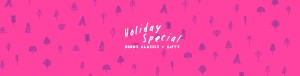 holiday special yoga promotion